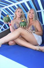 CLAUDIA FIJAL and COLLEEEN MCGINNISSS Hosts Weekly Pool Party at Sapphire Pool and Dayclub in Las Vegas 06/12/2021