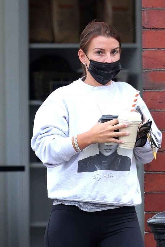 COLEEN ROONEY Out for Coffee and Shake in Wilmslow 06/21/2021