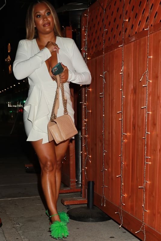 CRYSTAL HAYLSETT at The Nice Guy in West Hollywood 06/27/2021