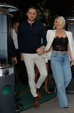 DANIELLE ARMSTRONG at Amazonico Restaurant in London 06/26/2021
