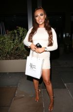 DEMI JONES at Beauty Works at South Place Hotel in London 06/24/2021