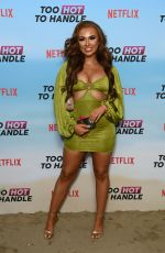 DEMI JONES at Too Hot to Handle TV Show Photocall in London 06/23/2021