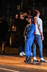 DEMI LOVATO and G-Eazy While on the Set of a Music Video in Los Angeles 06/10/2021