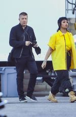 DEMI LOVATO on the Set of a Music Video with G-Eazy in Los Angeles 06/09/2021
