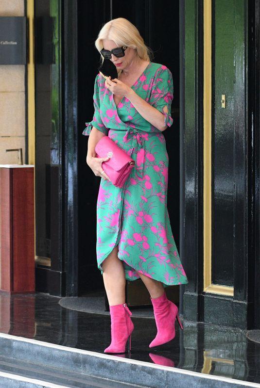 DENISE VAN PUTEN Leaves Dorchester Hotel in London 06/11/2021