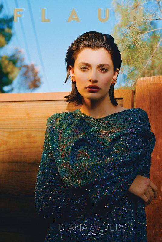 DIANA SILVERS for Flaunt Magazine, June 2021