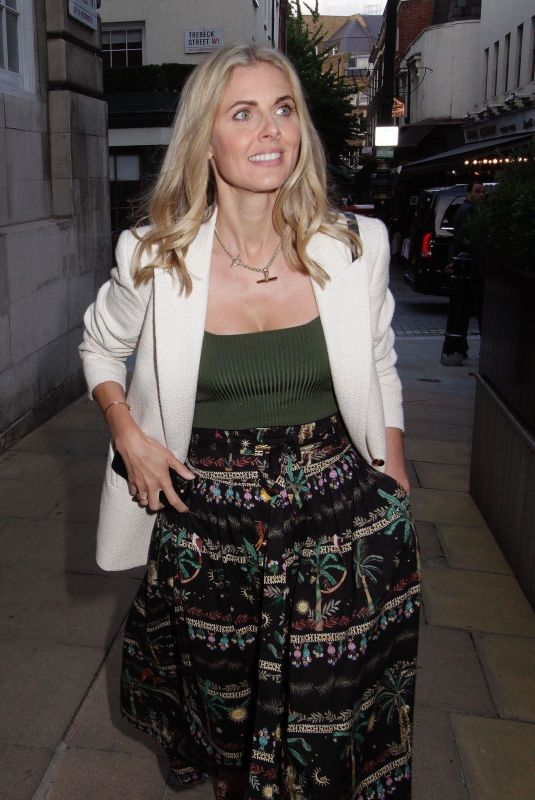 DONNA AIR Arrives at Five Hertford Street for Dinner in London 06/24/2021