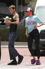 DUA LIPA and Anwar Hadid  Out in  Los Angeles 06/04/2021