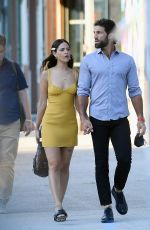 EIZA GONZALEZ and Paul Rabil Out in New York 06/18/2021