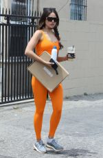 EIZA GONZALEZ in Tights Out in West Hollywood 06/29/2021