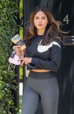 EIZA GONZALEZ Leaves Pilates Class in West Hollywood 06/02/2021