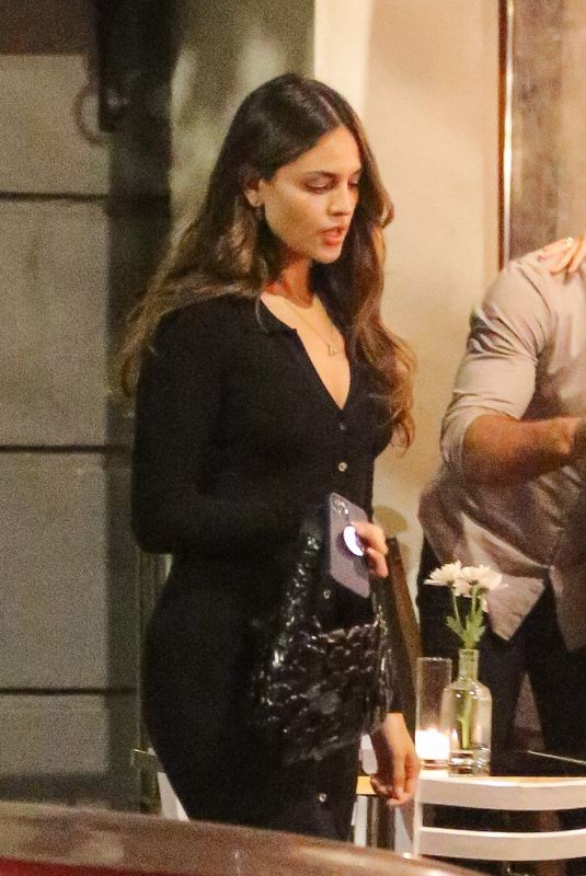 EIZA GONZALEZ Out for Dinner in New York 06/17/2021