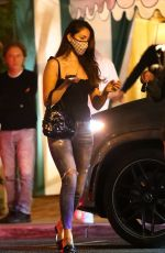 EIZA GONZALEZ Out for Dinner in West Hollywood 06/04/2021