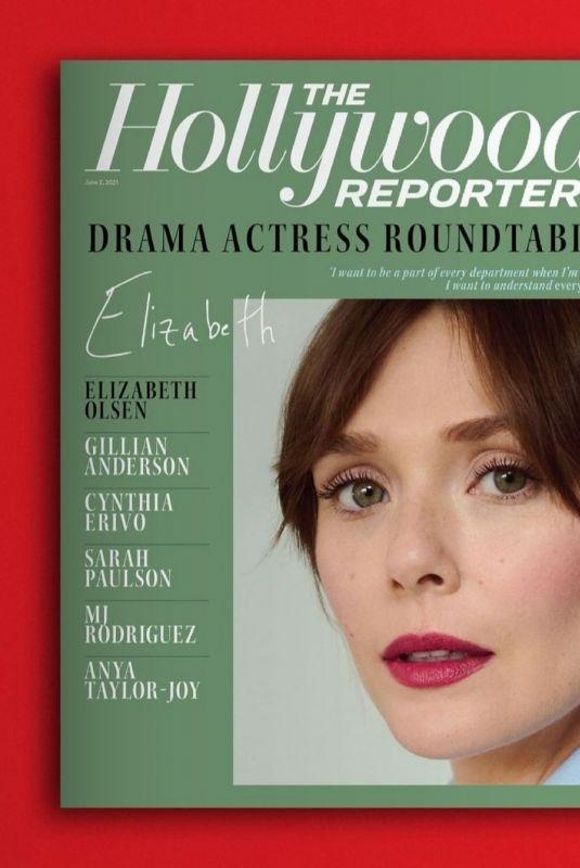 ELIZABETH OLSEN in The Hollywood Reporter, June 2021