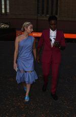 ELLA BAIG and NICOLA ADAMS Arrives at Loki TV Show Premiere in London 06/08/2021