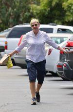 ELLEN DEGENERES Out for Sandwich in Montecito 06/21/2021
