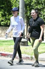 ELLEN POMPEO Out Hiking at Griffith Park in Los Feliz 06/04/2021