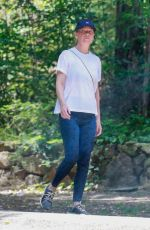 ELLEN POMPEO Out Hiking in Griffith Park in Los Angeles 06/15/2021