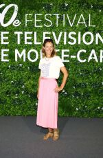 ELODIE VARLET at Plus Belle La Vie Photocall at 2021 Monte Carlo Festival 06/19/2021