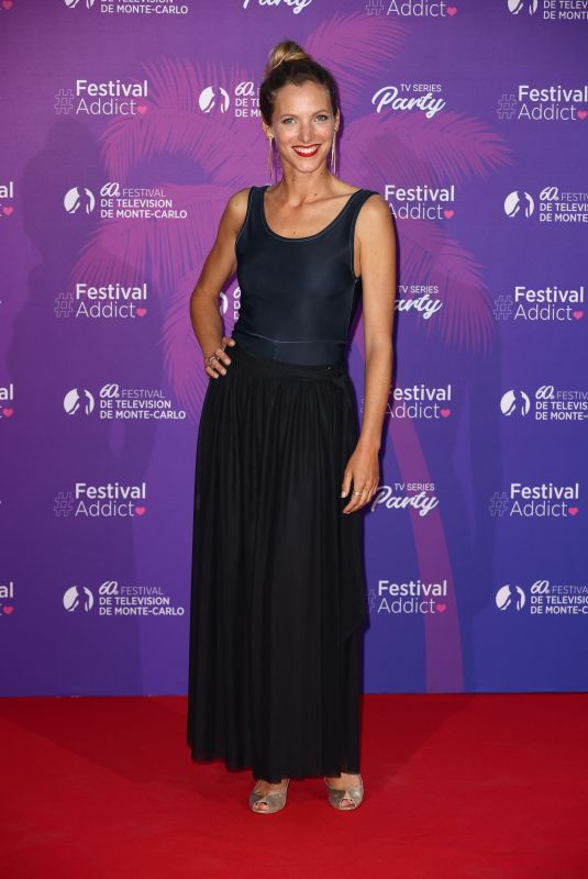 ELODIE VARLET at TV Series Party at 60th Monte Carlo Tv Festival 06/19/2021