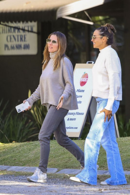 ELSA PATAKY and LUCIANA BAROSSO at Byron Bay's Roadhouse Cafe 06/21/2021