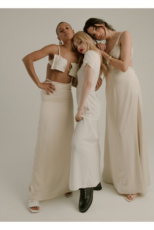 EMILY ALYN LIND, JORDAN ALEXANDER and ZION MORENO for Who What Wear, June 2021