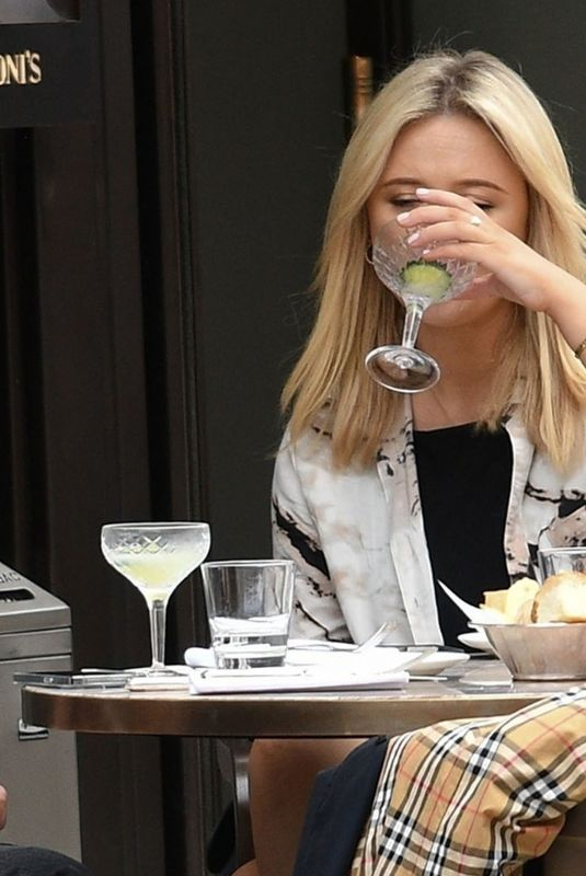 EMILY ATACK at Cecconi's Restaurant in London 06/26/2021