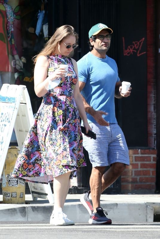 EMILY GORDON Out on Memorial Day in Los Angeles 05/31/2021