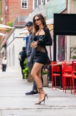 EMILY RATAJKOWSKI Out and About in New York 06/12/2021