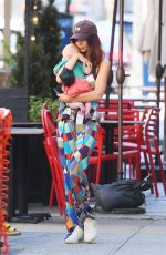 EMILY RATAJKOWSKI Out with her Baby in New York 06/17/2021