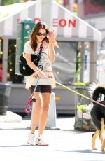 EMILY RATAJKOWSKI Out with Her Dog Colombo in New York 06/16/2021