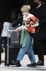 EMMA ROBERTS Arrives in Boston 06/01/2021