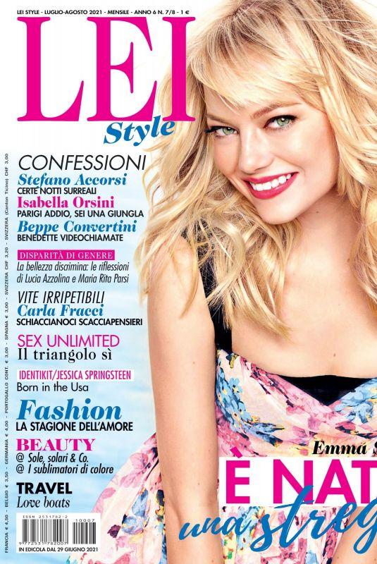 EMMA STONE in LEIStyle Magazine, July 2021