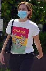 EMMA WATSON Out Shopping in West Hollywood 05/05/2021