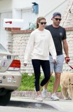 ERIN ANDREWS and Jarret Stoll Out with Their Dog in Los Angeles 06/28/2021