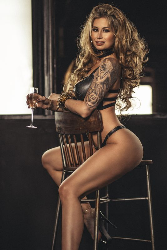 ESTER DEE at a Photoshoot, June 2021