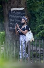 EVA MENDES Out in Chantilly 06/16/2021
