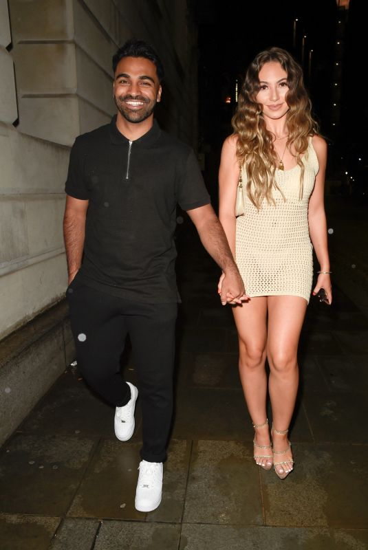 EVA ZAPICO at The I Saw It First Love Island Party in Manchester 06/28/2021