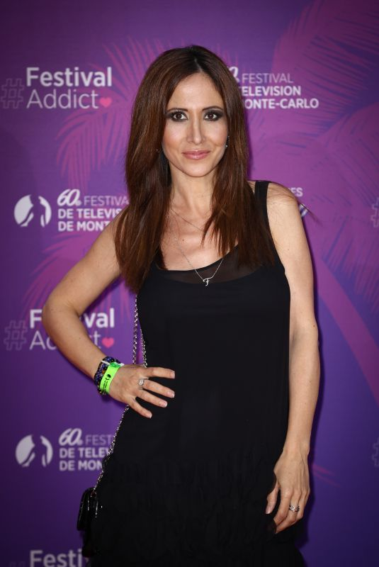 FABIENNE CARAT at TV Series Party at 60th Monte Carlo Tv Festival 06/19/2021