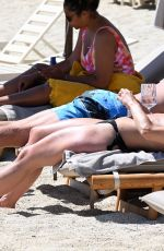 FAYE BROOKES in Bikini at a Beach in Greece 06/15/2021