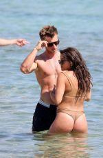 FAYE BROOKES in Bikini at a Beach in Greece 06/18/2021