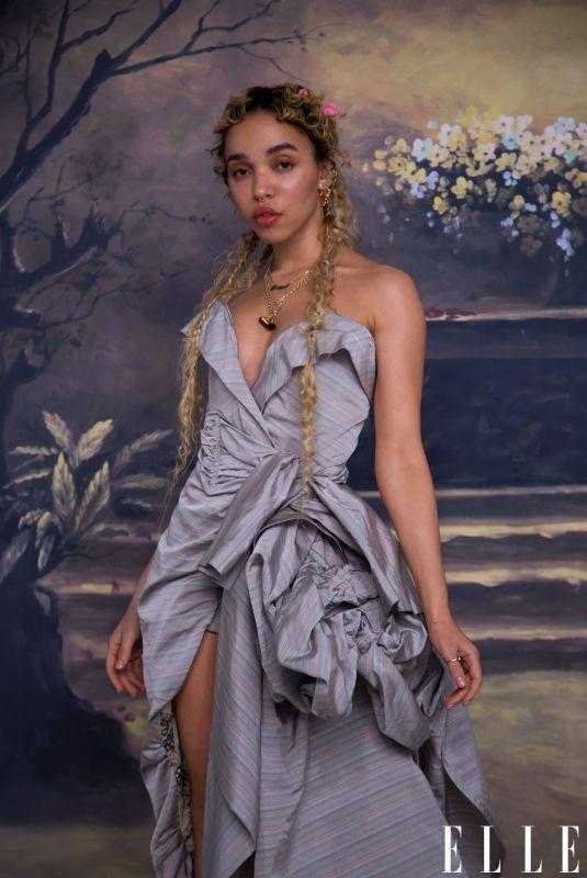 FKA TWIGS for Elle Magazine,March 2021