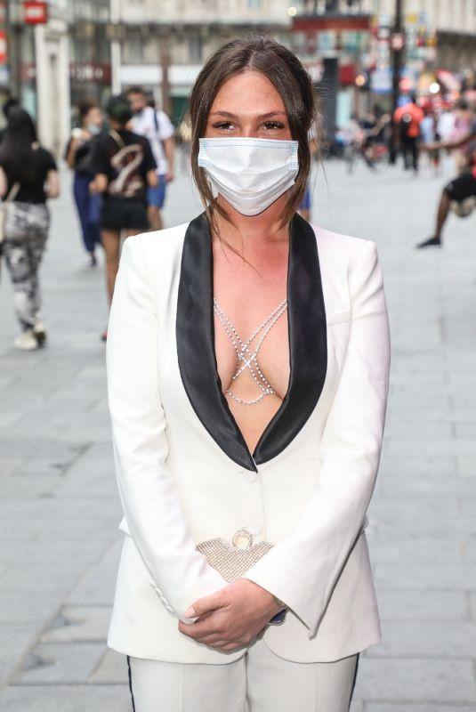 FRAN PARMAN Arrives at Hitman's Wife's Bodyguard Premiere in London 06/14/2021