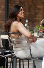 FRANCESCA ALLEN Out for Lunch in London 06/15/2021