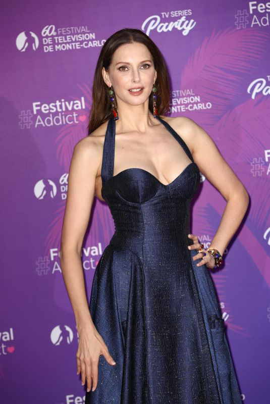 FREDERIQUE BEL at TV Series Party at 60th Monte Carlo Tv Festival 06/19/2021