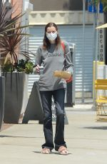 GEENA DAVIS Out for Coffee in Los Angeles 06/07/2021