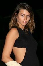 GEORGIA FOWLER Arrives at Australian Fashion Week 06/04/2021