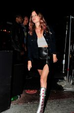 GEORGIA MAY JAGGER at Rainbow Bar and Grill in West Hollywood 06/26/2021