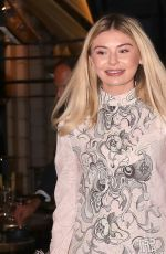 GEORGIA TOFFOLO at Isabel Restaurant in London 06/22/2021
