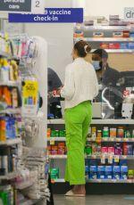 GIGI HADID Gets a Covid Caccine at Walgreens in New York 06/03/2021